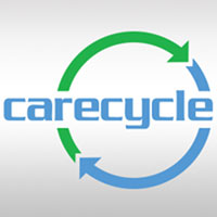 CareCycle logo - circular arrows and company name