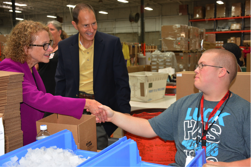 State Representative Donna Schaibley Visits Crossroads Industrial Services