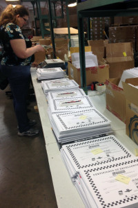 Indianapolis 500 educational packet assembly