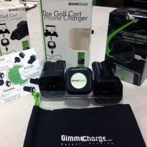 GimmeCharge products on display